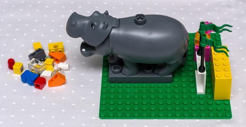 Lego Serious Play-Metapher für den Status Quo eines Business-Intelligence-System