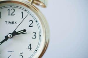 Effizienz: die Uhr tickt