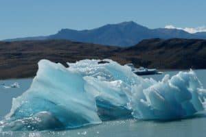 Eisberg im Lago Viedma, Arg. / Ingrid Steinmel