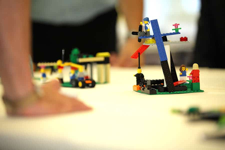 Modelle im Lego Serious Play Workshop