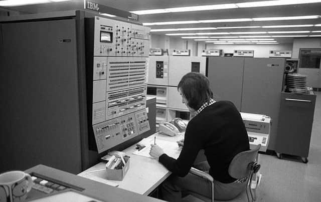 Ein System/360 zur elektronischen Datenverarbeitung im VW-Werk Wolfsburg (1973)