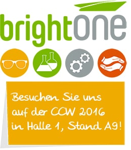 Einladung brightONE CCW 2016