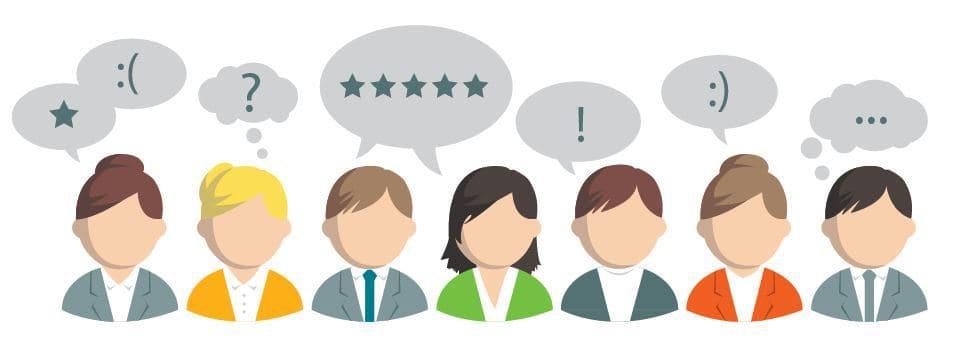 Sprachanalyse und Kundenbefragungen
