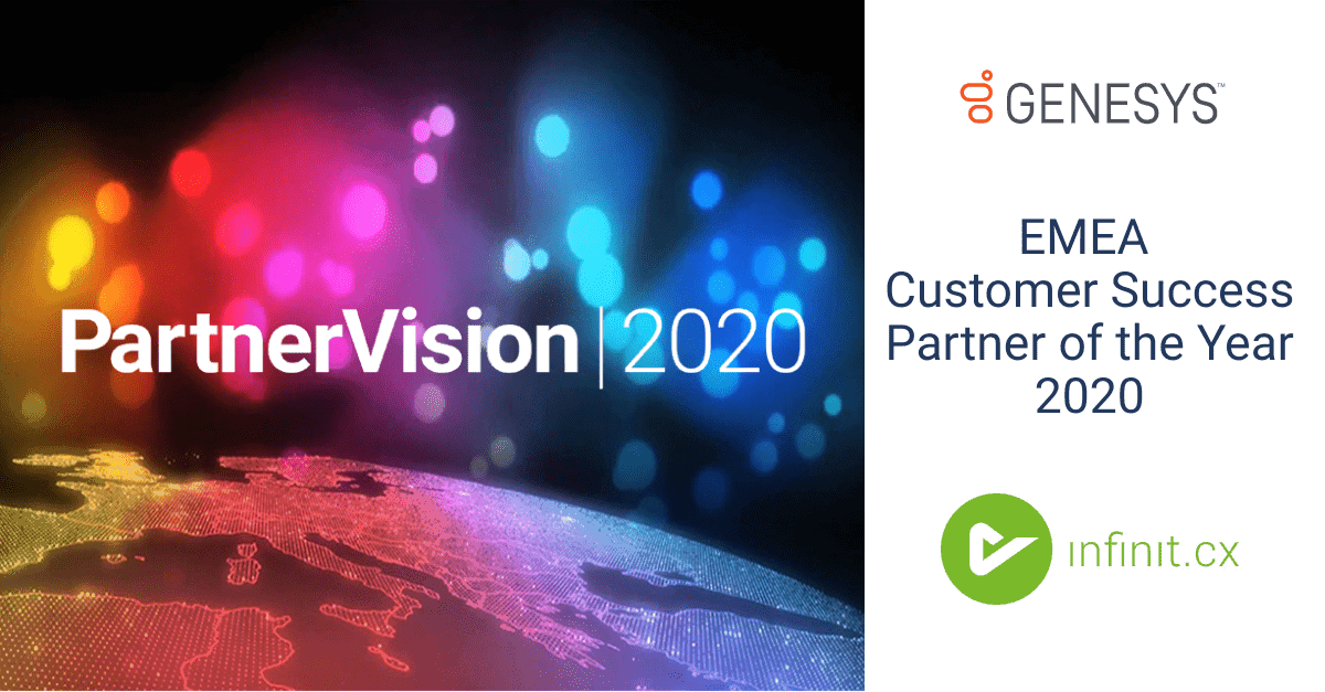 Partner Vision EMEA Customer Success Partner of the Year 2020